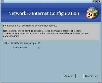 scripts de configuration carte réseau