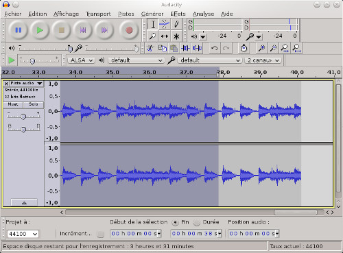 how to get started with audacity